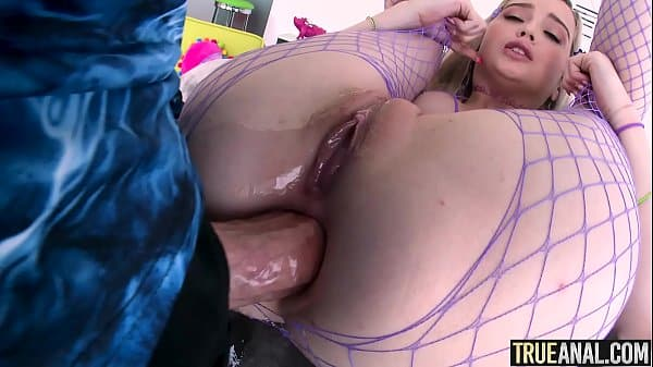 TRUE ANAL Gaping Lexi Lore's tight little butthole